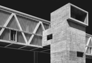 grey 3D building