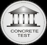 logo concrete test